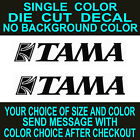 (2x) Tama Drums Die Cut Vinyl Decal Car Truck Window Laptop Sticker