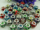 mix murano DIY Jewelry bead LAMPWORK fit European Charm Bracelet beads a2