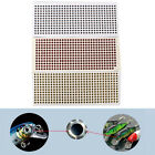 500PCS/Pack 3-6mm Fish Eyes 3D Holographic Lure Eyes Fly Tying Jigs Crafts Dolls