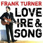 Love Ire & Song [LP] by Frank Turner (Vinyl, Feb-2010, Epitaph Records USA)