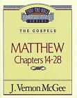 Thru the Bible Commentary, Volume 35: Matthew Chapters 14-28 .. NEW