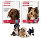 Vet Strength WORMclear Dog Puppy Worming Wormer Tablets kills Roundworm Tapeworm