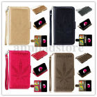 For Iphone 6s/7/7plus PU Leather Magnetic Flip Stand Card Wallet Case Cover New