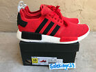 ADIDAS NMD R1 NOMAD CORE RED BLACK WHITE BB2885 GLITCH SZ 7.5-13 MEN'S