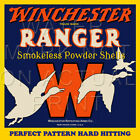 Reproduction Vintage Winchester Ranger Powder Shell Box Label Canvas Print