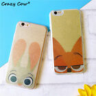 Coque iphone Lapin Judy Renard housse Case iPhone 5/5s5se 6/6 plus 7/7plus