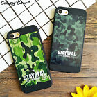 Coque iphone Camouflage Acrylique housse Case iPhone 5/5s5se 6/6 plus 7/7plus