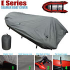 Seamax Inflatable Boat Cover, E Series for Beam 6.6-7.4ft, Length 15-20ft