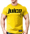 NEW Men's Monsta Clothing Juice: Good To The Last Drop Workout T Shirt: Yellow