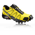 Salomon Speedcross 4 Mens Yellow Black Running Shoes Trainers