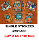 Panini ROAD TO  WORLD CUP 2018 STICKERS #251-500  BUY 2 GET 10 FREE!!