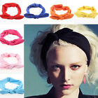Women Bow Hairband Yoga Elastic Accessories Fashion Knotted Rabbit Hair Band Hot