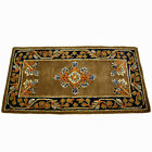 "44""x22"" Jardin Rectangle Wool Fire Resistant Fireplace Hearth Rug Carpet"