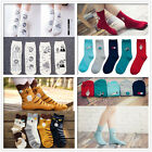 1 pair New Fashion Candy color Women Girls Middle Casual Cute Heart Socks cool