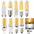 G4 G9 E12 E14 Dimmable Led Corn Bulb Silicone Crystal Cob Filament Light Lamp