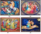 LOVELY BRAND NEW RUSSIAN LACQUER BOX/EPIC/TSAR SALTAN/10cmx8cm/VARIOUS DESIGNS