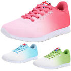 Fashion Women Gradient Color Sports Shoes Breathable Running Sneakers Athletic