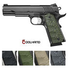 1911 Full Size G10 Pistol GripsTactical Chisel CutAmbi Safety CutCOOL HAND