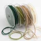 Hessian String Burlop Style Various Colours 2mm x 20m Full Reel