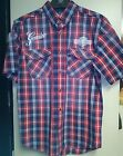 Harley-Davidson Men's Classic Eagle Plaid Shirt 96171-16VM