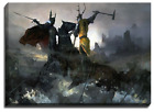 A Canvas Reproduction Print Of Game Of Thrones, Battle Of The Trident