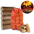 Pizza Oven Bundle - 15kg Kiln Wood + Fuel Heat Logs Outside Stonebaked BBQ Grill