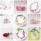 Ladies Children's HairClips Head Bands Rose Flowers  *UK*