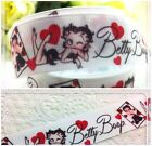 "1"" BETTY BOOP VINTAGE BEAUTY Printed Grosgrain Ribbon By 1,3,5 Yard USA SELLER $3.15 CAD"