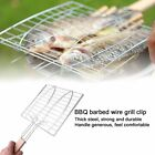 Barbecue Clips Iron Wire Bbq Net Grill Bbq Tongs Fried Meat Vegetable Clamp Em