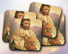 Religious // Jesus and a Lamb, Christian // Coaster [NEW!] 1