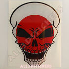 Sticker Flag Japan Skull Adhesive Decal Resin Domed Car Moto Tablet Laptop 3D