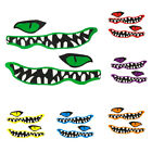 2pcs River Monster Teeth Boat Decal Vinyl Graphics Stickers for Kayak Canoe