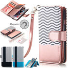 For iPhone 7S 6S Plus 7 Luxury Wallet Case Flip Leather Removable Magnetic Cover