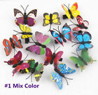 lot 100 Women Wedding Bridal Headdress Colorful Butterfly Clips Hair Accessories