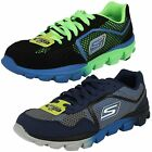 Boys Skechers 95672 Go Run Ride Supreme Lace Up Sports Trainers