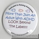 ADHD Badges, More than ADHD look beyond the label