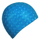 Durable Flexible Sporty Latex Swimming Waterproof Swim Cap Bathing Hat UnisexC3U