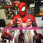 NEW PS4 INSOMNIAC SPIDERMAN SUIT 3D Print Spandex Games Spidey Cosplay Suit