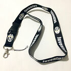Juventus LOGO Football Soccer Souvenir lanyard keychain ID badge document holder