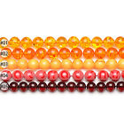 Mixed Synthetic Amber Gemstone Round Loose Beads 15.5