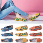2018 Fashion Womens Casual Boat Shoes Slip On Ballet Flats Loafers Single Shoes