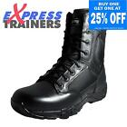 Magnum Viper Pro 8.0 Side Zip Mens Classic Leather Combat Security Boots Black