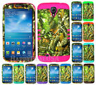 "For Samsung Galaxy Mega 6.3"" - KoolKase Hybrid Silicone Cover Case Camo Mossy 10"