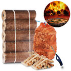 Quality Wooden Kindling, x5 Long Lasting Pizza Oven Fuel Logs & Clipper Wave