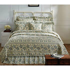Briar Sage 6PC Set - Quilted Bedding Set by VHC Brands - ALL SIZES Available