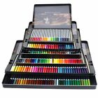 24/36/48/72 Colour Water Soluble Drawing Sketch Pencils Metal Box Art Supplies