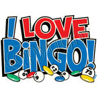I Love Bingo T Shirt You Choose Style, Size, Color 10658 image
