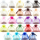 Premium Organza Gift Pouches Bags Jewellery Wedding Favour Bag 6x8.5cm