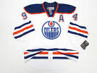 RYAN SMYTH EDMONTON OILERS AUTHENTIC AWAY REEBOK EDGE 2.0 7287 HOCKEY JERSEY