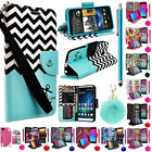 For ZTE Z MAX PRO ZMAX Pro Carry Z981 Premium PU Leather Wallet Flip Cover Case